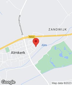 Locatie Autobedrijf Verschoor V.O.F. op kaart