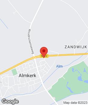 Locatie Garage A.H. den Breejen Almkerk op kaart