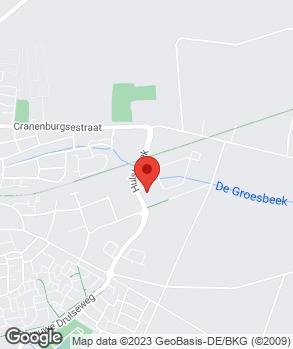 Locatie Garage Mestrom Groesbeek B.V. op kaart