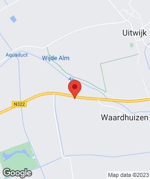 Locatie Schouten Almkerk B.V. op kaart