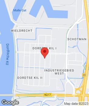 Locatie Drechtsteden Auto's op kaart
