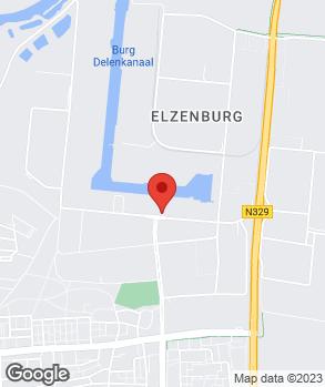 Locatie Carselect van der Stappen op kaart