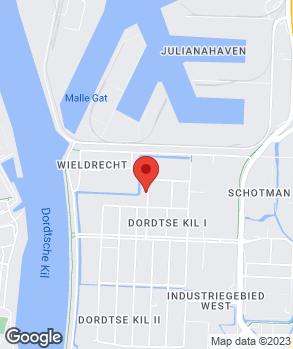 Locatie Profile Tyrecenter DBS Dordrecht op kaart