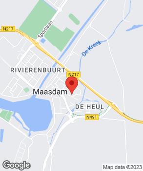 Locatie J. Rijnbrand B.V. op kaart