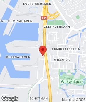 Locatie Automobielbedrijf Vissersdijk op kaart