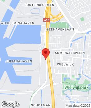 Locatie Dacia Indumij Dordrecht op kaart