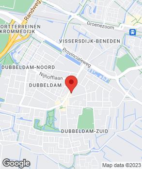 Locatie V.O.F. Handelsonderneming Broer-van Laarhoven op kaart