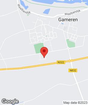 Locatie AAGameren v.o.f. op kaart