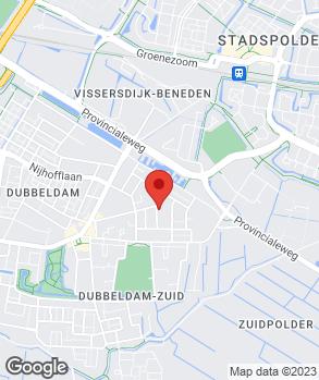 Locatie Automobielbedrijf Van der Heiden op kaart