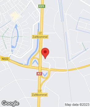 Locatie De Waal Zaltbommel op kaart
