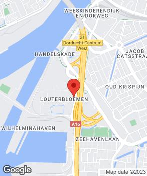 Locatie Van Mill Dordrecht op kaart
