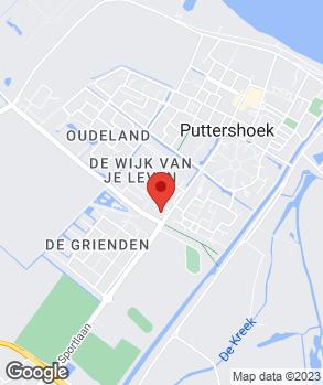 Locatie Autobedrijf A.J. van der Veer & Zn. op kaart