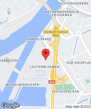 Locatie Reno Dordrecht B.V. op kaart