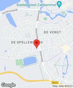Locatie Automobiel- en Garagebedrijf M. van Tilborg B.V. op kaart