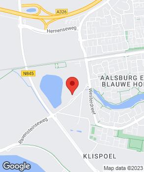 Locatie Autohandel F. Kortenray 't Centrum op kaart