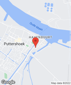 Locatie Garagebedrijf Covast op kaart