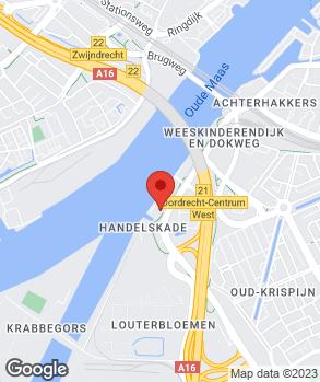 Locatie Autobedrijf Mulder Dordrecht B.V. op kaart