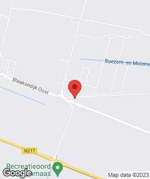 Locatie E. Vermeer op kaart
