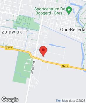 Locatie Automobielbedrijf Van Splunder B.V. op kaart