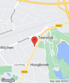 Locatie Autobedrijf Tien Rutten op kaart