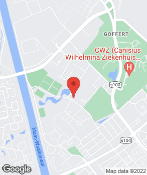 Locatie Bochane Nijmegen op kaart