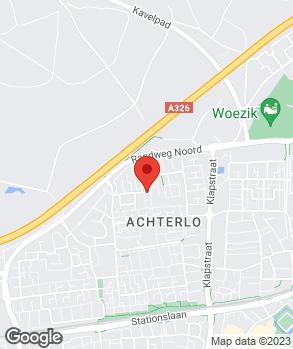 Locatie Auto Airco Wijchen op kaart