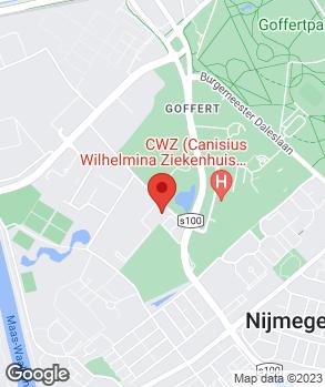 Locatie Wassink Autogroep Nijmegen op kaart