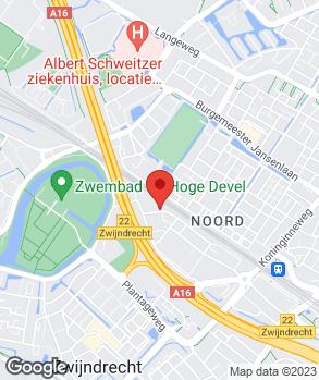 Locatie Autocentrum Zwijndrecht   J & F Auto's B.V. op kaart