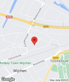 Locatie Autobedrijf Paul Wilting op kaart