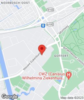 Locatie Hegeman Groep B.V. | Volkswagen Centrum Nijmegen | Audi Centrum Nijmegen | Autocenter Heyendaal | Hegeman Skoda op kaart