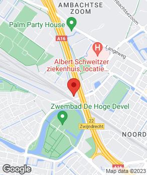 Locatie Handelsonderneming Pébé op kaart