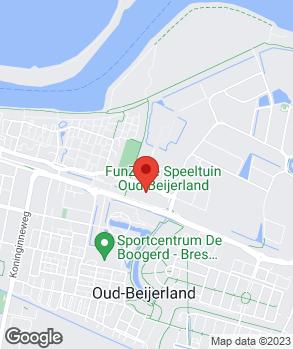 Locatie Autohuis Oud-Beijerland op kaart
