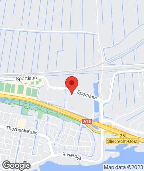 Locatie Ames Sales Outlet Sliedrecht op kaart