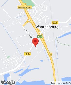 Locatie Autoservice Ron de Ruiter V.O.F. op kaart