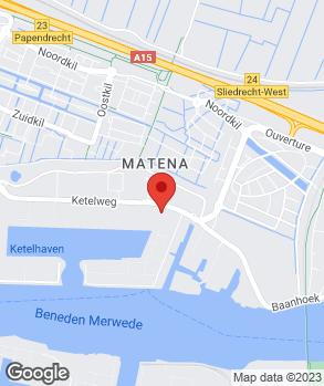 Locatie Autoschade van Gemert Papendrecht C.V. op kaart
