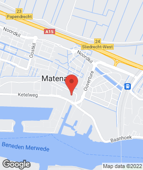 Locatie Cars Center Zuidholland op kaart