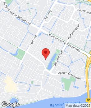 Locatie Garagebedrijf Hoogendoorn B.V. op kaart