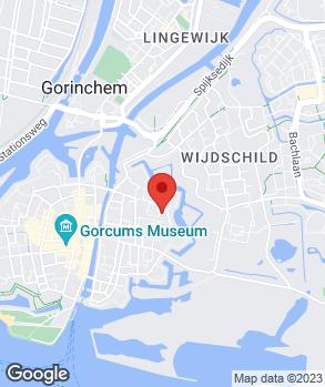 Locatie van de Giessen All-Round Service op kaart