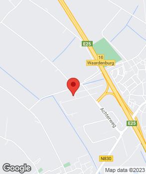 Locatie Rhenoy Auto op kaart