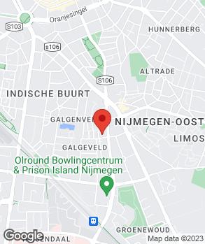 Locatie Oranje Garage Van der Peijl op kaart