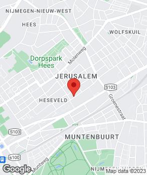 Locatie Autobedrijf De Jong op kaart