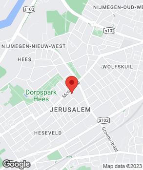 Locatie Van Ottele Nijmegen B.V. | Garage van Ottele op kaart