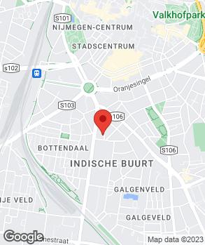 Locatie Autobedrijf Starfit op kaart