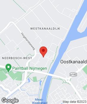 Locatie Vaartland.nl Nijmegen op kaart