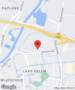 Locatie Autobedrijf Van Willegen Gorcum B.V. op kaart