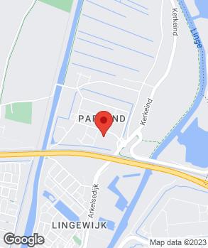 Locatie Van Tilburg-Bastianen DAF B.V. op kaart