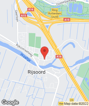Locatie Classic Car Centre Ridderkerk B.V. op kaart