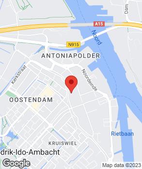 Locatie V.O.F. Autobedrijf Gerritsen en Zn. op kaart