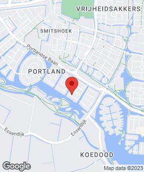 Locatie A.W. Barendregt Auto's op kaart
