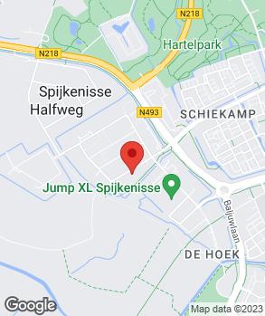 Locatie Einstein Techno Centre op kaart